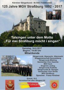 "MGV Straßburg - 125 Jahre MGV - Talsingen unter dem Motto "" Für mei Straßburg möcht i singen"" @ Straßburg  | Straßburg | Carinthia | Austria"