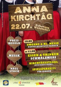 Gemischter Chor Wabelsdorf - Anna Kirchtag