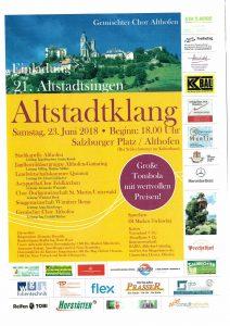 Gemischter Chor Althofen - Altstadtklang @ Althofen: Salzburger Platz | Althofen | Carinthia | Austria