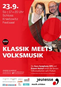 Kärntner Volksliedwerk - Klassik meets Volksmusik @ Klagenfurt: Schloss Krastowitz | Klagenfurt am Wörthersee | Kärnten | Austria