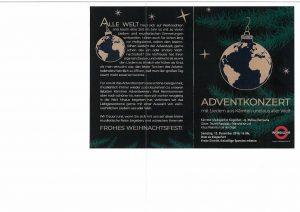 Kärntner Madrigalchor Klagenfurt - Adventkonzert mit Liedern aus Kärnten und aus aller Welt @ Klagenfurt: Dom