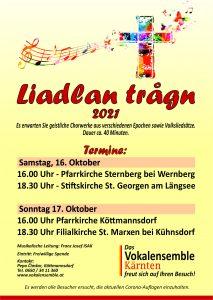 "Vokalensemble Kärnten - ""Liadlan trogn"" @ Köttmannsdorf: Pfarrkirche"